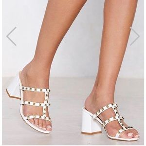 NEW Nasty Gal sandals